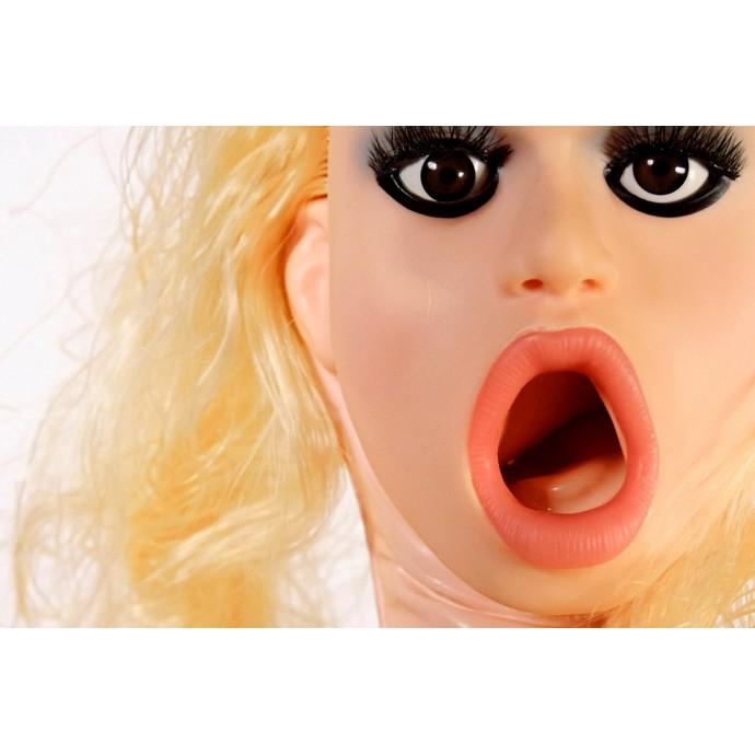 Надувная кукла с вибрацией Кармен Лувана (TLC® Carmen Luvana CyberSkin®)