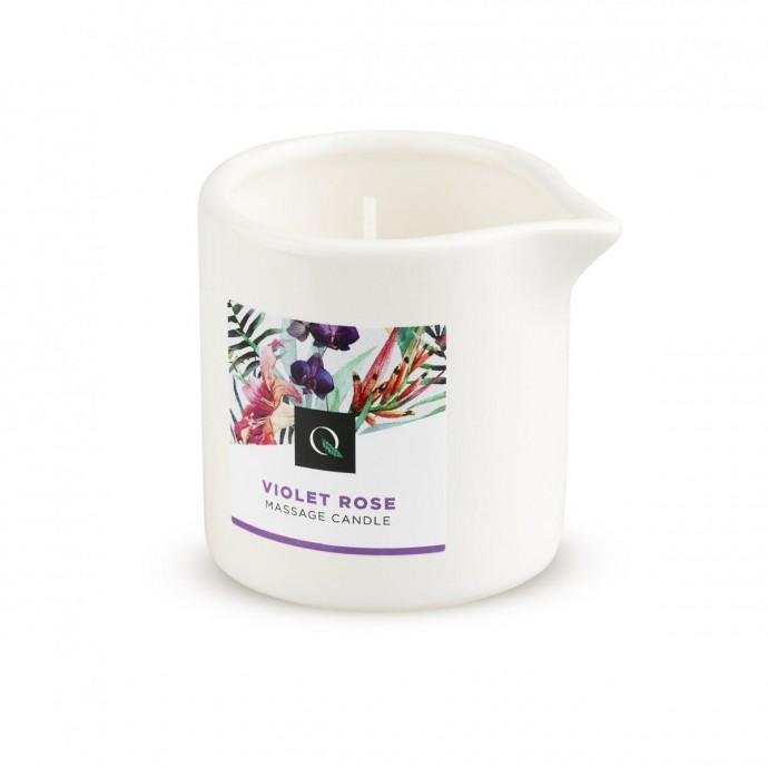 Exotiq Massage Candle Violet Rose - массажная свеча фиалка и роза, 60 мл
